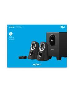 Logitech Z313 kõlarikomplekt 2.1 kanalid 25 W Must