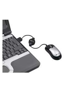 Targus Mini Optical Retractable Netbook Mouse hiir USB tüüp A Optiline 800 DPI