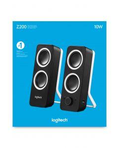 Logitech Z200 10 W Must Juhtmega ühendatud