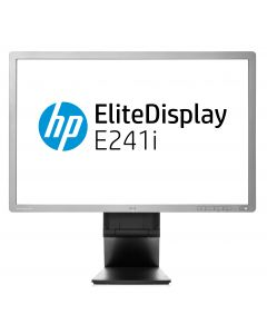"HP EliteDisplay E241i 61 cm (24"") 1920 x 1200 pikslit LED Hõbe"