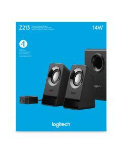 Logitech Z213 kõlarikomplekt 2.1 kanalid 7 W Must