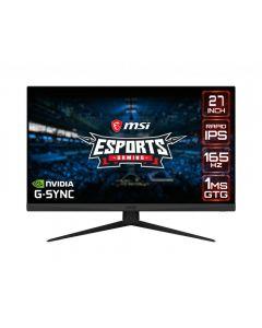 "MSI Optix G273QF 68,6 cm (27"") 2560 x 1440 pikslit Quad HD LCD Must"
