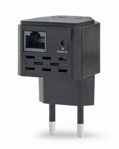 WRL REPEATER 300MBPS/BLACK WNP-RP300-03-BK GEMBIRD