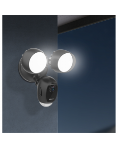 EZVIZ FloodLight Camera LC1C PTZ, 2.8mm/F2.0, IP65, H.264, H.265, MicroSD, 256 GB
