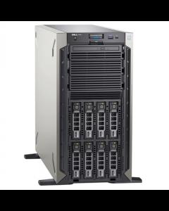 "Dell PowerEdge T340 Tower, Intel Xeon, E-2224, 3.4 GHz, 8 MB, 4T, 4C, UDIMM DDR4, 2666 MHz, No RAM, No HDD, Up to 8 x 3.5"", Hot-swap hard drive bays, PERC H330, Single, Hot-plug, Power supply 495 W, iDRAC9 Basic, No Rails, No OS, Warranty Basic Onsite 36"