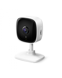 TP-LINK Home Security Wi-Fi Camera Tapo C100 Cube, 3.3mm/F/2.0, Privacy Mode, Sound and Light Alarm, Motion Detection and Notifications, H.264, Micro SD, Max. 128 GB
