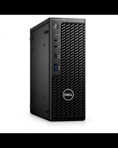 Dell Precision 3240 Compact Desktop, SFF, Intel Core i7, i7-10700, Internal memory 16 GB, DDR4, SSD 512 GB, NVIDIA Quadro RTX 3000, No Optical drive, Keyboard language No keyboard, Windows 10 Pro, Warranty Basic OnSite 36 month(s)