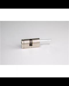 SALTO Danalock DCE3 Euro profile mechanical cylinder Nickel; 45-30 mm, For V3 SmartLock
