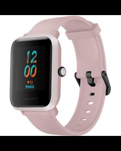 Amazfit Bip S Smart watch, GPS (satellite), AMOLED Display, Touchscreen, Heart rate monitor, Activity monitoring 24/7, Waterproof, Bluetooth, Warm Pink