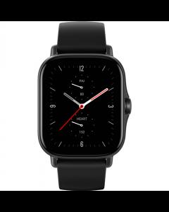 Amazfit GTS 2e Smart watch, GPS (satellite), AMOLED Display, Touchscreen, Heart rate monitor, Activity monitoring 24/7, Waterproof, Bluetooth, Obsidian Black
