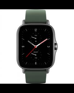 Amazfit GTS 2e Smart watch, GPS (satellite), AMOLED Display, Touchscreen, Heart rate monitor, Activity monitoring 24/7, Waterproof, Bluetooth, Moss Green