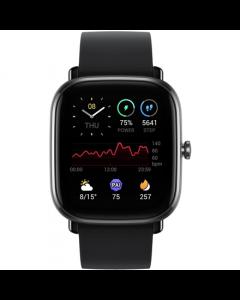 Amazfit GTS 2mini Smart watch, GPS (satellite), AMOLED Display, Touchscreen, Heart rate monitor, Activity monitoring 24/7, Waterproof, Bluetooth, Midnight Black