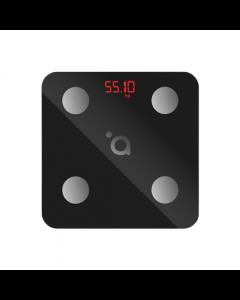 Acme Smart Scale SC103 Maximum weight (capacity) 180 kg, Body Mass Index (BMI) measuring, Black