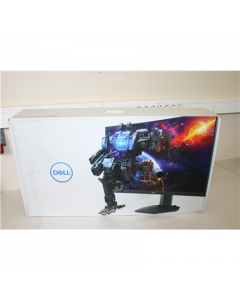 """SALE OUT. Dell LCD S2721HGF 27"""" FHD/1920x1080/HDMI,DP/Black Dell Curved Gaming Monitor  S2721HGF 27 """", VA, FHD, 1920x1080, 16:9, 1 ms, 350 cd/m², Black, Headphone Out Port, DEMO, HDMI ports quantity 2"""