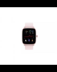 Amazfit GTS 2mini Smart watch, GPS (satellite), AMOLED Display, Touchscreen, Heart rate monitor, Activity monitoring 24/7, Waterproof, Bluetooth, Pink