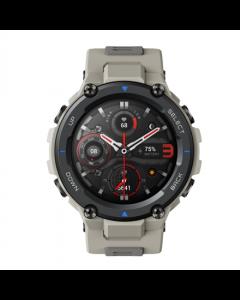 Amazfit T-Rex Pro Smart watch, GPS (satellite), AMOLED Display, Touchscreen, Heart rate monitor, Activity monitoring 24/7, Waterproof, Bluetooth, Desert Grey