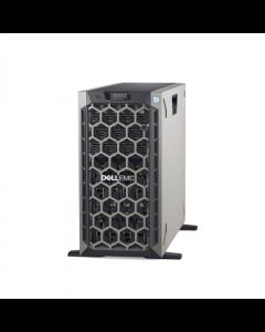 "Dell PowerEdge T440 Tower, Intel Xeon, Silver 1x4214, 2.2 GHz, 16.5 MB, 24T, 12C, RDIMM DDR4, 2666 MHz, No RAM, No HDD, Up to 8 x 3.5"", Hot-swap hard drive bays, PERC H730P, Dual, Hot-plug, Redundant, Power supply 49 W, On-Board LOM 2x1GbE, iDRAC 9 Enterp"