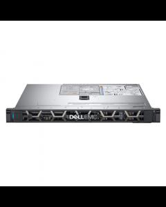 """Dell PowerEdge R340 Rack (1U), Intel Xeon, E-2244G, 3.8 GHz, 8 MB, 8T, 4C, UDIMM DDR4, 2666 MHz, No RAM, No HDD, Up to 4 x 3.5"""", Hot-swap hard drive bays, PERC H330, Dual, Hot Plug, Power supply 350 W, iDRAC9 Basic, Sliding Rails, No OS, Warranty Basic On"""