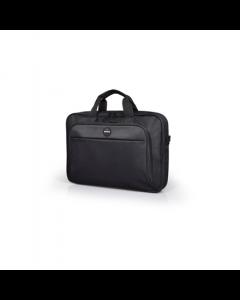PORT DESIGNS HANOI II CLAMSHELL 13/14 Briefcase, Black PORT DESIGNS Laptop case HANOI II Clamshell Shoulder strap, Notebook
