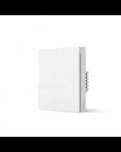 Aqara Smart wall switch H1 (no neutral, single rocker) WS-EUK01 White