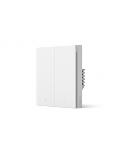 Aqara Smart wall switch H1 (with neutral, double rocker) WS-EUK04 White