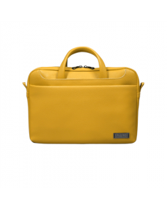 """PORT DESIGNS Zurich Fits up to size 13/14 """", Yellow, Shoulder strap, Toploading"""