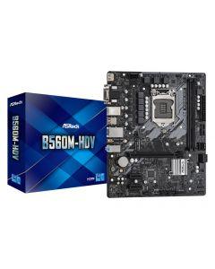 Mainboard|ASROCK|Intel B560|LGA1200|MicroATX|1xPCI-Express 3.0 1x|1xPCI-Express 4.0 16x|2xM.2|Memory DDR4|Memory slots 2|1x15pin