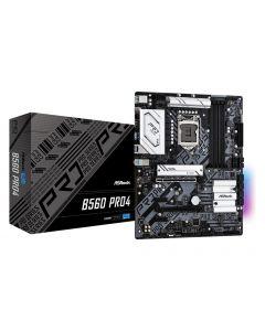 Mainboard|ASROCK|Intel B560|LGA1200|ATX|2xPCI-Express 3.0 1x|1xPCI-Express 3.0 16x|1xPCI-Express 4.0 16x|3xM.2|Memory DDR4|Memor