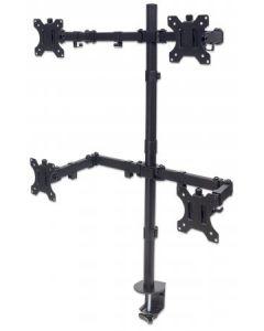 "Manhattan 461566 monitori kinnitus ja alus 81,3 cm (32"") Klamber Must"