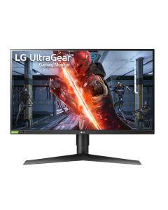 "LG 27GN750-B LED display 68,6 cm (27"") 1920 x 1080 pikslit Full HD Must, Punane"