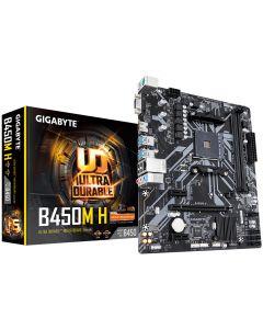 Gigabyte B450M H emaplaat AMD B450 Pesa AM4 Mikro ATX