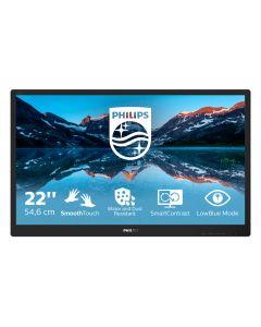 """Philips 222B9TN/00 PC lamekuvar 54,6 cm (21.5"""") 1920 x 1080 pikslit Full HD LCD Must"""