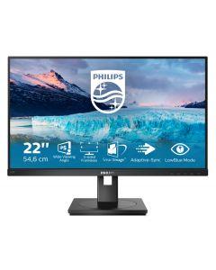 "Philips S Line 222S1AE/00 PC lamekuvar 54,6 cm (21.5"") 1920 x 1080 pikslit Full HD LCD Must"