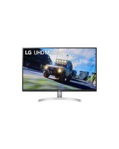 """LG 32UN500-W PC lamekuvar 80 cm (31.5"""") 3840 x 2160 pikslit 4K Ultra HD Must, Valge"""