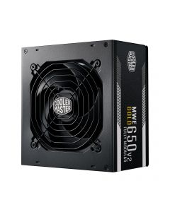 Cooler Master MWE Gold 650 - V2 Full Modular toiteallika komponent 650 W 24-pin ATX ATX Must