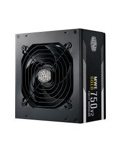 Cooler Master MWE Gold 750 - V2 toiteallika komponent 750 W 24-pin ATX ATX Must