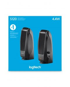 Logitech S120 2,2 W Must Juhtmega ühendatud