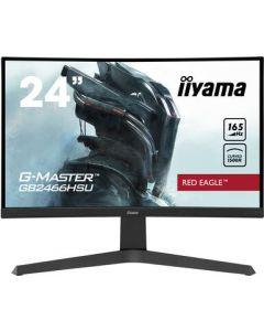 "iiyama G-MASTER Red Eagle 60,5 cm (23.8"") 1920 x 1080 pikslit Full HD LED Must"