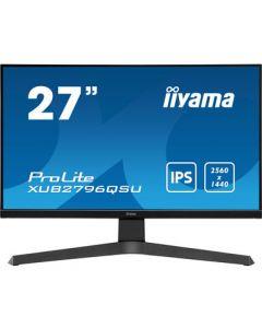 "iiyama ProLite XUB2796QSU-B1 LED display 68,6 cm (27"") 2560 x 1440 pikslit 2K Ultra HD Must"