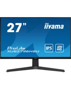 "iiyama ProLite XUB2796HSU-B1 LED display 68,6 cm (27"") 1920 x 1080 pikslit Full HD Must"