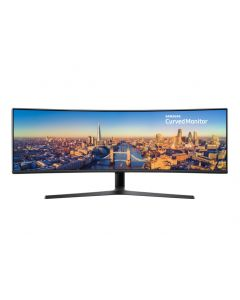 "Samsung C49J890DKR 124,5 cm (49"") 3840 x 1080 pikslit QLED Must"