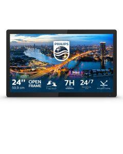 "Philips B Line 242B1TFL/00 puutetundlik monitor 60,5 cm (23.8"") 1920 x 1080 pikslit Mitmikpuude Must"