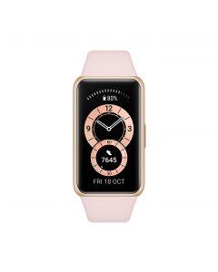Huawei Band 6 Smart watch, AMOLED, Touchscreen, Heart rate monitor, Waterproof, Bluetooth, Sakura Pink