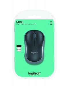 Logitech M185 hiir Raadioside Optiline 1000 DPI Mõlemakäeline