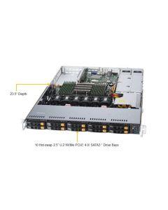 SERVER SYSTEM 1U SAS/SATA/AS-1114S-WN10RT SUPERMICRO
