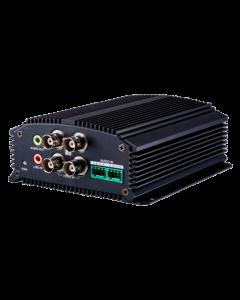 HikVision video encoder 4 analoogkaamera sisendit DS-6704HWI