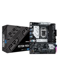Mainboard|ASROCK|Intel H570|LGA1200|MicroATX|Memory DDR4|Memory slots 4|1xPCI-Express 3.0 16x|1xPCI-Express 4.0 16x|1xM.2|1xHDMI